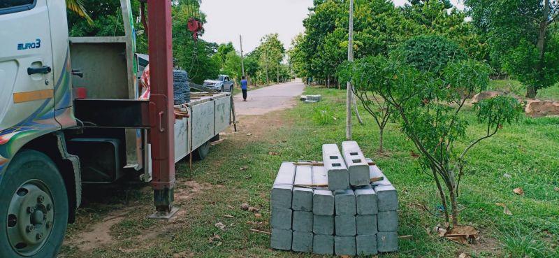จัดส่ง รั้วคาวบอย 2 ชั้น ต.ศิลา อ.เมือง จ.ขอนแก่น - 30 มิ.ย. 62