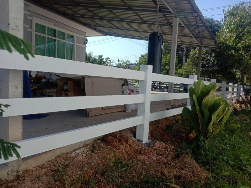 ผลงานติดตั้ง รั้วคาวบอย 3 ชั้น ต.เนินหอม อ.เมือง จ.ปราจีนบุรี - 20 ธ.ค. 62