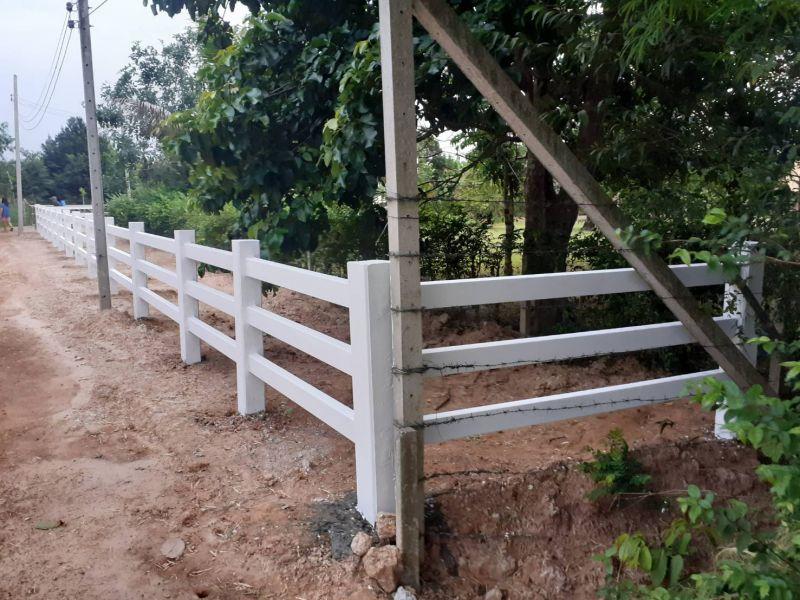 ผลงานติดตั้ง รั้วคาวบอย 3 ชั้น ต.ดงขี้เหล็ก อ.เมือง จ.ปราจีนบุรี - 22 มิ.ย. 63