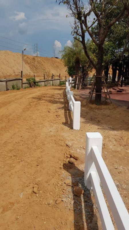 ผลงานติดตั้ง รั้วคาวบอย 2 ชั้น ต.กุดลาด อ.เมือง จ.อุบลราชธานี - 11 ก.ย. 63