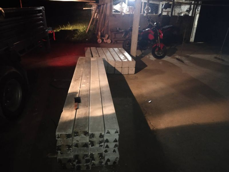 จัดส่ง รั้วคาวบอย 2 ชั้น ต.สันมหาพน อ.แม่แตง จ.เชียงใหม่ - 27 ต.ค. 63