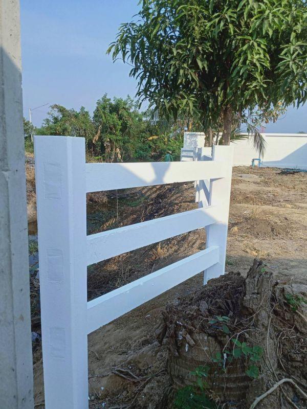 ผลงานติดตั้ง รั้วคาวบอย 3 ชั้น อ.ท่ามะกา จ.กาญจนบุรี - 28 ม.ค. 64