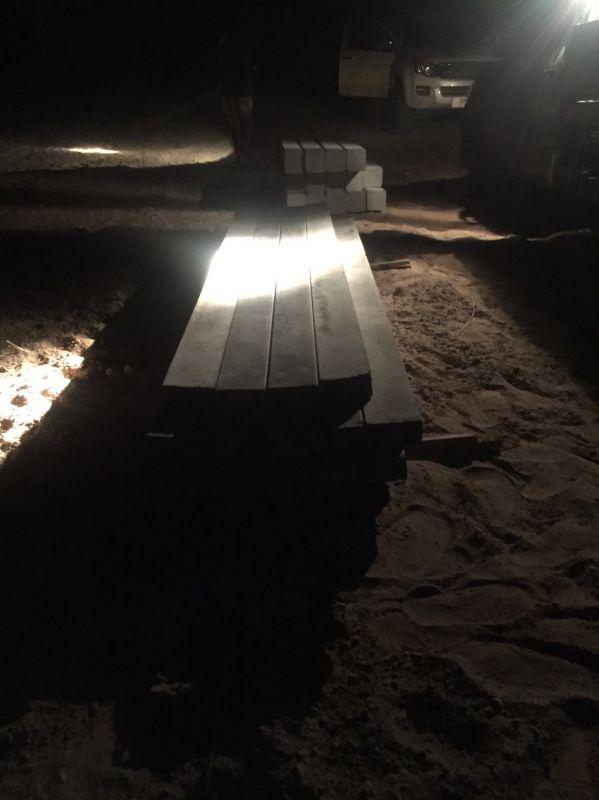 จัดส่ง รั้วคาวบอย 2 ชั้น ต.หนองนาง อ.ท่าบ่อ จ.หนองคาย - 5 ก.พ. 64
