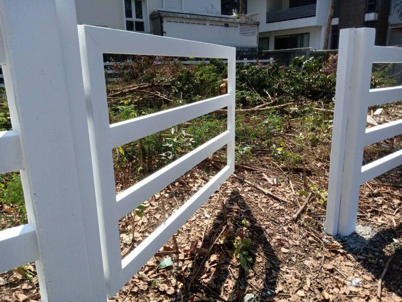 ผลงานติดตั้ง ประตูรั้วคาวบอย เขต สะพานสูง จ.กรุงเทพมหานคร - 12 ก.พ. 64