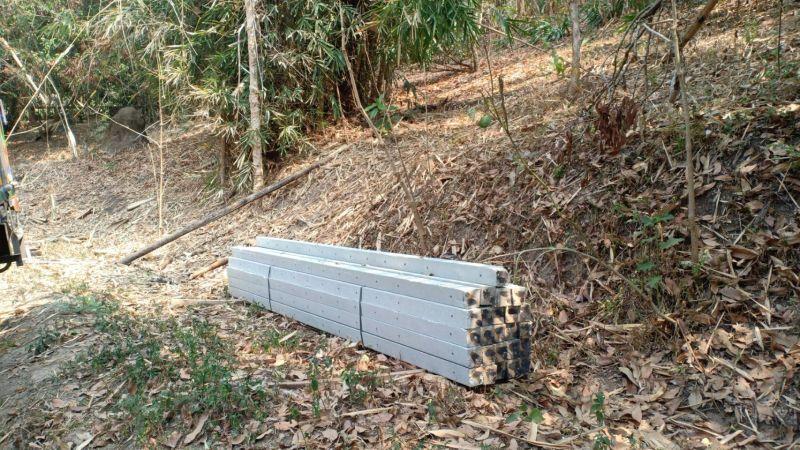 จัดส่ง เสารั้วอัดแรง ต.ป่าเมี่ยง อ.ดอยสะเก็ด จ.เชียงใหม่ - 19 มี.ค. 64