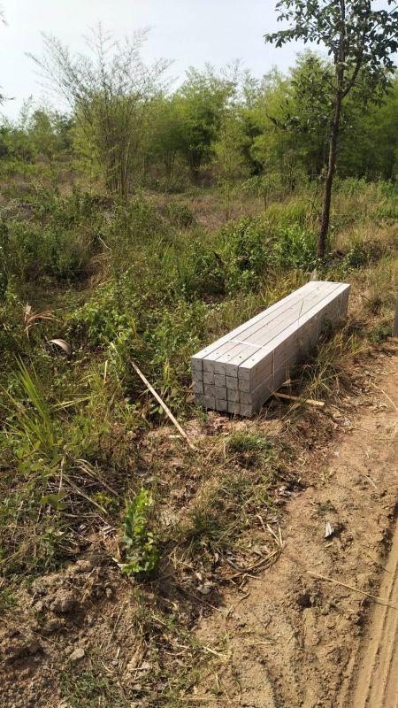 จัดส่ง เสารั้วอัดแรง ต.อ่างหิน อ.ปากท่อ จ.ราชบุรี - 3 เม.ย. 64