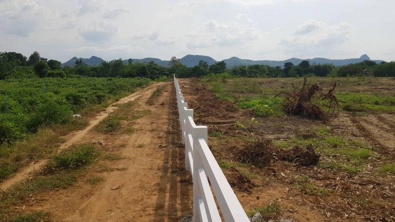 ผลงานติดตั้ง รั้วคาวบอย 3 ชั้น อ.ไทรโยค จ.กาญจนบุรี - 10 เม.ย. 64