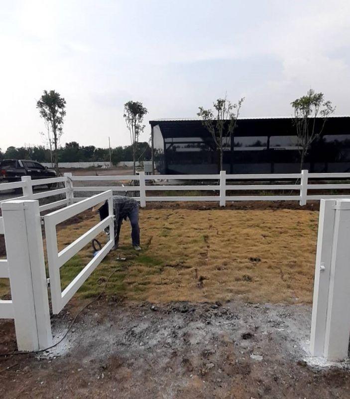 ผลงานติดตั้ง ประตูรั้วคาวบอย เขต มีนบุรี จ.กรุงเทพมหานคร - 12 เม.ย. 64
