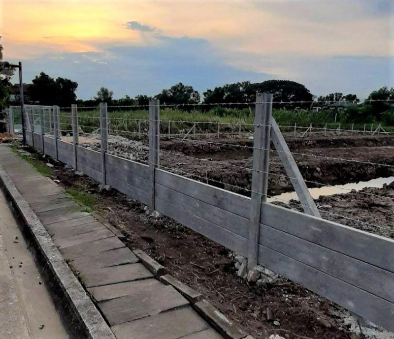 ผลงานติดตั้ง รั้วลวดหนาม (ทึบล่าง) เขต มีนบุรี กรุงเทพมหานคร - 17 พ.ค. 64