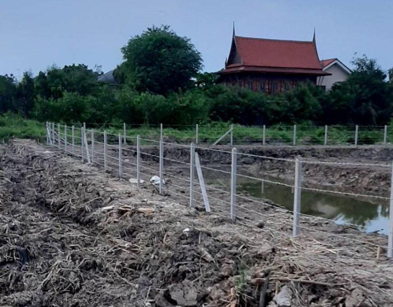 ผลงานติดตั้ง รั้วลวดหนาม เขต มีนบุรี กรุงเทพมหานคร - 17 พ.ค. 64