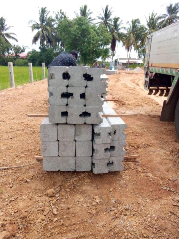 จัดส่ง รั้วคาวบอย 3 ชั้น (ทึบล่าง) ต.บ้านในดง อ.ท่ายาง จ.เพชรบุรี - 10 มิ.ย. 64