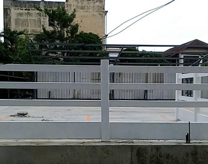 ผลงานติดตั้ง รั้วคาวบอย 4 ชั้น (ทึบล่าง) แขวง บางแวก เขต ภาษีเจริญ กรุงเทพมหานคร - 30 มิ.ย. 64
