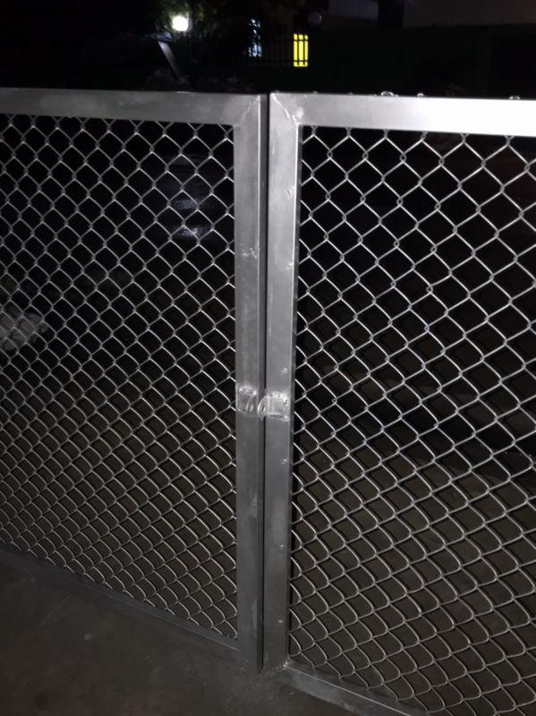 ผลงานติดตั้ง ประตูรั้วตาข่ายถัก อ.ลาดหลุมแก้ว จ.ปทุมธานี - 10 ก.ค. 64