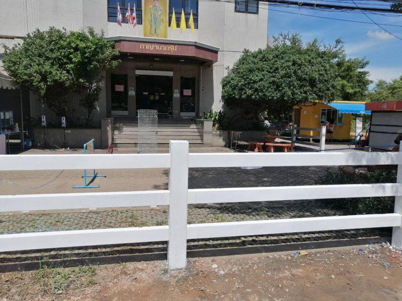 ผลงานติดตั้ง รั้วคาวบอย 3 ชั้น ต.ดอนตะโก อ.เมืองราชบุรี จ.ราชบุรี - 13 ก.ค. 64