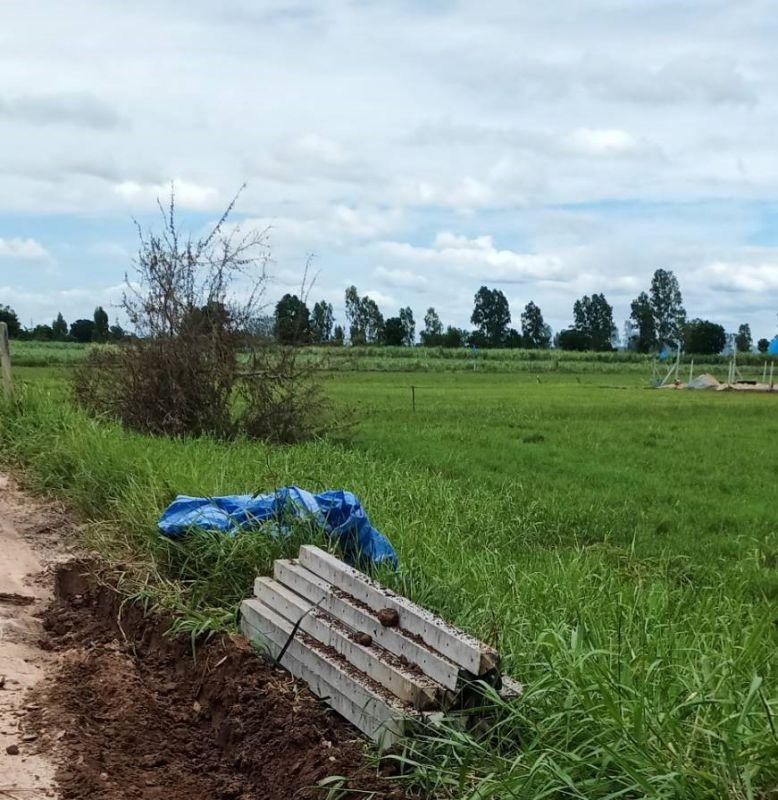 จัดส่ง เสารั้วอัดแรง ต.หนองหญ้าไซ อ.หนองหญ้าไซ จ.สุพรรณบุรี - 18 ก.ค. 64