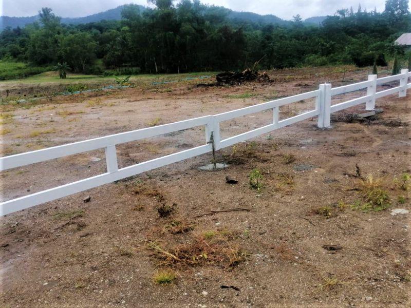 ผลงานติดตั้ง ประตูรั้วคาวบอย ต.สวนผึ้ง อ.สวนผึ้ง จ.ราชบุรี - 4 ส.ค. 64