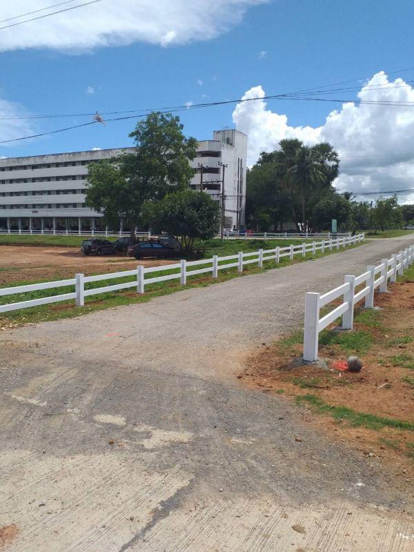 ผลงานติดตั้ง รั้วคาวบอย 2 ชั้น ต.ลาดหญ้า อ.เมือง กาญจนบุรี - 30 ส.ค. 64