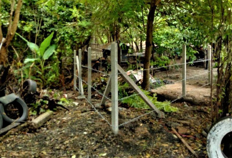 ผลงานติดตั้ง รั้วลวดหนาม อ.บ่อทอง จ.ชลบุรี - 26 ก.ย. 64