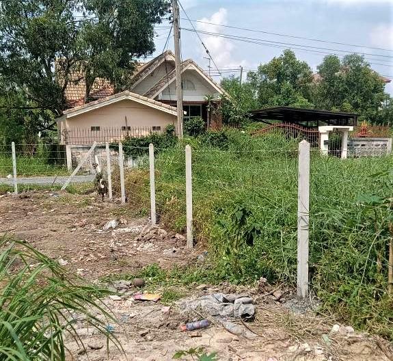 ผลงานติดตั้ง รั้วลวดหนาม ต.บ้านใหม่ อ.ปากเกร็ด จ.นนทบุรี - 8 ต.ค. 64